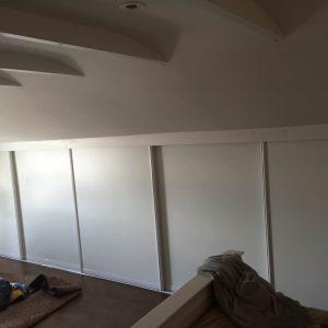 Loftet garderobe