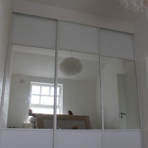 skyvedører med speil